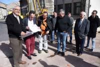 Montfaucon-en-Velay : la future salle des fêtes commence à émerger