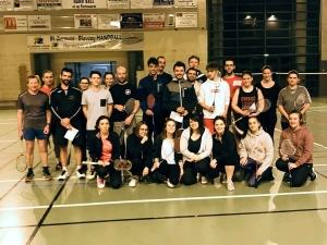 Saint-Germain-Laprade : une rencontre de badminton avec Lantriac