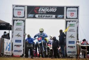 Le Championnat de France d'enduro moto passe par l'Emblavez ce week-end