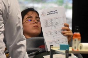 Yssingeaux : une première collecte de sang directement au lycée George-Sand