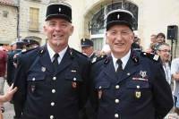 Saint-Julien-Chapteuil : Eric Coste succède à Jean-Pierre Exbrayat à la tête des pompiers