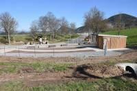 Saint-Hostien : l'aire de repos a été réaménagée
