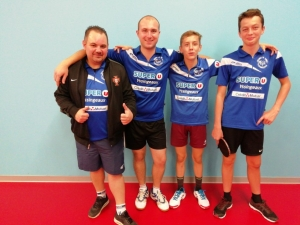 Tennis de table : Yssingeaux voit double contre Craponne-sur-Arzon