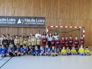 Saint-Julien-Chapteuil : quatre clubs au tournoi futsal U9 organisé par quatre étudiantes