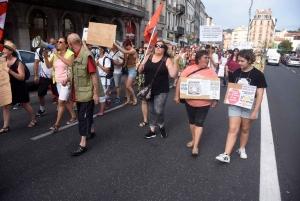 Une nouvelle manifestation contre le pass sanitaire avec 500 participants au Puy-en-Velay