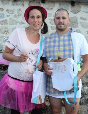 Grazac : un joyeux enterrement de vie de célibataires pour Maryline et Maxime