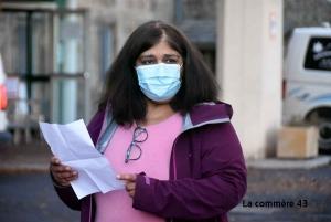 Yasmina Ali, présidente de l'association de Moze