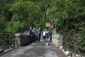 Yssingeaux/Grazac : le pont de la Sainte, plus vieux pont de la Haute-Loire, se refait une beauté