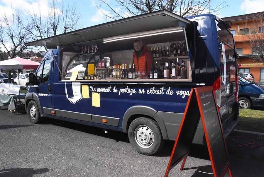 Un wine truck pour faire voyager les caudalies