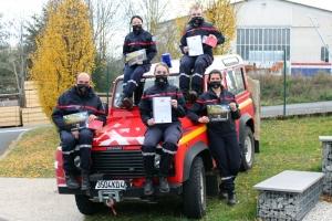 Saint-Julien-Chapteuil : la tournée de calendriers des pompiers adaptée