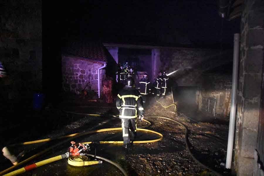 Riotord : troisième incendie en moins de dix ans dans un hangar agricole