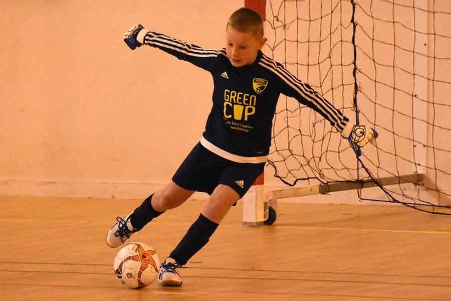 Chambon-sur-Lignon : l'Olympique Saint-Etienne remporte le tournoi futsal U8-U9