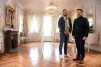 Ludovic et Romain Bertrand ont mis savoir-faire et coeur dans cette soigneuse rénovation.