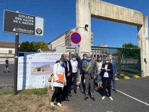 Craponne-sur-Arzon : des travaux d'amélioration thermique et énergétique au collège
