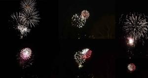 Les feux d'artifice du Puy-en-Velay et Yssingeaux en photos