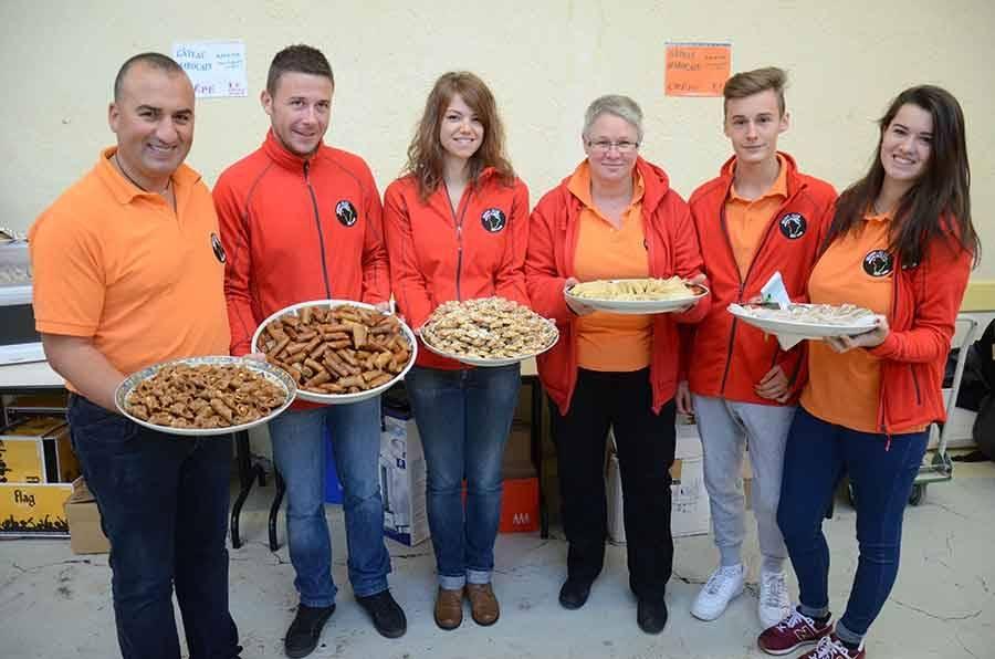 Chaque année, des pâtisseries marocaines sont proposées.